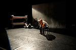 MURMURES....Auteur : TCHOUDA Bouba Landrille..Choregraphie : TCHOUDA Bouba Landrille..Compositeur : TALBOT Yvan..Compagnie : Compagnie Malka..Decor : GLOMBARD Rodrigue..Lumiere : CROUZET Fabrice..Costumes : MURGIA Claude..Avec :..MAJOU Nicolas..TCHOUDA Bouba Landrille..Lieu : Theatre National de Chaillot Studio..Ville : Paris..Le : 09 11 2010..© Laurent PAILLIER / photosdedanse.com..All Rights reserved