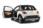Car images close up view of a 2015 Opel Adam Rocks 3 Door Hatchback doors