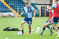Nick Freeman of Wycombe Wanderers during the Open Training Session in front of supporters during the Wycombe Wanderers 2016/17 Team & Individual Squad Photos at Adams Park, High Wycombe, England on 1 August 2016. Photo by Jeremy Nako.
