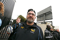 Photo: Richard Lane/Richard Lane Photography. Stade Rochelais v Wasps.  European Rugby Champions Cup. 10/12/2017. Wasps' Pudsey Bevan.