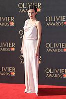 Pheobe Fox<br /> arriving for the Olivier Awards 2017 at the Royal Albert Hall, Kensington, London.<br /> <br /> <br /> ©Ash Knotek  D3245  09/04/2017