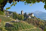 Italien, Suedtirol, bei Meran, Dorf Tirol: Landesmuseum Schloss Tirol | Italy, South Tyrol, Alto Adige, near Merano, Tirolo: Tyrol castle - provincial museum of history and culture
