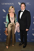 LONDON, UK. October 01, 2019: Glynnis Barber & Michael Brandon at the Luminous Gala 2019 at the Roundhouse Camden, London.<br /> Picture: Steve Vas/Featureflash