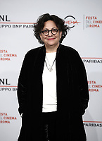 "La regista statunitense Roberta Grossman posa durante il photocall per la presentazione del suo film ""Who Will Write Our History "" al Festival Internazionale del Film di Roma, 19 ottobre 2018.<br /> US director Roberta Grossman poses during the photocall of her movie ""Who Will Write Our History "" during the international Rome Film Festival at Rome's Auditorium, on October 19, 2018.<br /> UPDATE IMAGES PRESS/Isabella Bonotto"