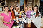 Enjoying the evening in Molly J's on Friday, l to r: Maeve O'Rahilly, Alison and Claire O'Sullivan, Catherine Lawlor, Fiona Clifford and Aoife O'Grady.