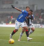 03.11.18 St Mirren v Rangers: Alfredo Morelos and Ethan Erahon