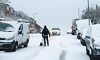 Snow in High Wycombe - 24.01.2021