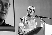 September 11,1985 File Photo - <br /> take part in a debate between all candidates in the Parti Quebecois leadership race which was eventually won by Pierre-Marc Johnson
