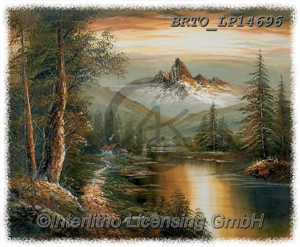 Alfredo, LANDSCAPES, LANDSCHAFTEN, PAISAJES, paintings+++++,BRTOLP14696,#l#, EVERYDAY ,puzzle,puzzles