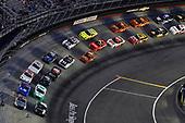 #18: Kyle Busch, Joe Gibbs Racing, Toyota Supra Juniper and #9: Noah Gragson, JR Motorsports, Chevrolet Camaro Switch