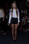 31.08.2012. Celebrities attending the Angel Schlesser fashion show during the Mercedes-Benz Fashion Week Madrid Spring/Summer 2013 at Ifema. In the image Laura Hayden (Alterphotos/Marta Gonzalez)