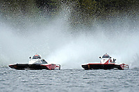 """Andrew Tate, A-25 """"Fat Chance"""" and Leslie """"Poodle"""" Warren, A-36 (2.5 MOD class hydroplane(s)"""