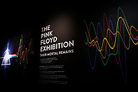 Roma 16/01/2018. Museo Macro. Mostra 'The Pink Floyd Exhibition - Their mortal remains'.<br /> Rome January 16th 2018. Museum Macro. 'The Pink Floyd Exhibition - Their mortal remains'.<br /> Foto Samantha Zucchi Insidefoto