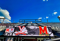 WASHINGTON, DC - SEPTEMBER 6: Virginia vs Maryland at Audi Field before a game between University of Virginia and University of maryland at Audi Field on September 6, 2021 in Washington, DC.
