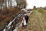 Amanda and Daniel's Pre-Wedding Lifestyle Portraits.<br /> <br /> Rockefeller Preserve State Park, Pocantico Hills, N.Y.