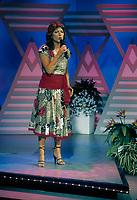 La chanteuse  Nicole Martin <br /> , le 3 Juin 1985<br /> <br /> PHOTO :   agence Quebec Presse - Pierre Roussel