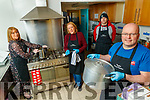 Volunteers at Tralee Soup Kitchen, pictured on Tuesday last, who deliver soup and meals on Saturdays l-r: Colette Price, Mary Dolan,<br /> Richard Doyle and John Leahy.