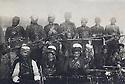 Turkey 1930?.The Ararat rebellion ( 1927-1931 ):Fighters of Agri Dagh and among them some Shakak tribesmen.<br /> Turquie 1930?.La révolté de l'Ararat ( 1927-1931 ): Combattants de l'Agri Dagh et parmi eux des membres de la tribu des Shakak<br /> تورکیا سالی 1930؟ راپه رینی ئارارات (1927ـ1931), تیکوشه رانی ئاگری داغ وچه ند که س له عه شیره تی شکاک