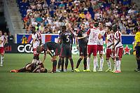 HARRISON, NJ - Saturday, August 8, 2015: The New York Red Bulls defeat Toronto FC 3-0 at home at Red Bull Arena in regular season MLS play.