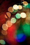 """At a holiday light display (Brookside Gardens Garden of Light in Wheaton, Maryland), patterns of light are created through purposeful """"de-focus."""""""