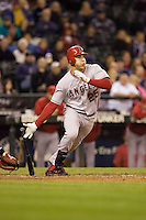 September 24, 2008: Los Angeles Angels of Anaheim's Mark Teixeira at-bat during a game against the Seattle Mariners at Safeco Field in Seattle, Washington.