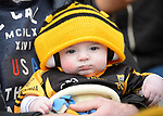 Little Ballyea fan Tiernan O Looney in the stand before the All-Ireland Club Hurling Final against Cuala at Croke Park. Photograph by John Kelly.