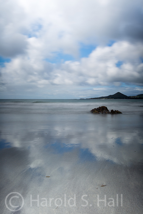 Low tide along the Ring of Kerry in southern Ireland.
