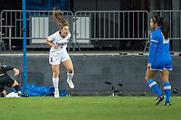 San Jose, CA - December 7, 2019: Stanford defeats the UCLA Bruins 4-1 in a Women's Semi Final NCAA Tournament soccer game at Avaya Stadium.