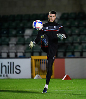 Lincoln City's Ethan Ross during the pre-match warm-up<br /> <br /> Photographer Chris Vaughan/CameraSport<br /> <br /> EFL Papa John's Trophy - Northern Section - Group E - Lincoln City v Manchester City U21 - Tuesday 17th November 2020 - LNER Stadium - Lincoln<br />  <br /> World Copyright © 2020 CameraSport. All rights reserved. 43 Linden Ave. Countesthorpe. Leicester. England. LE8 5PG - Tel: +44 (0) 116 277 4147 - admin@camerasport.com - www.camerasport.com