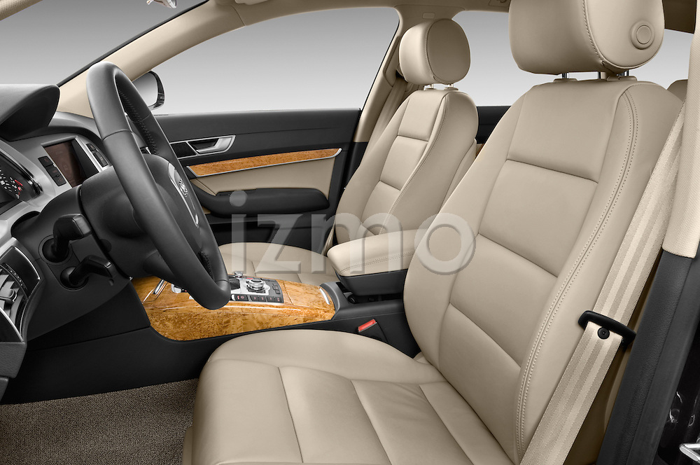 Front seat view of a 2006 - 2011 Audi A6 ALLROAD QUATTRO Avus 5-Door Wagon 4WD