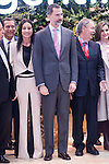 King Felipe VI of Spain during his visit to FITUR 2017 at IFEMA in Madrid, Spain. January 18, 2017. (ALTERPHOTOS/BorjaB.Hojas)