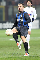 "Antonio Cassano Inter.Milano 14/02/2013 Stadio ""San Siro"".Football Calcio UEFA Europa League 2012/13.Inter v Cluj.Foto Insidefoto Paolo Nucci."