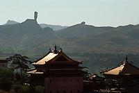 China, Xumi Fushou Miao-Tempel in Chengde, Unesco-Weltkulturerbe
