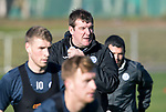 St Johnstone Trainig….20.10.17<br />Manager Tommy Wright pictured during training this morning at McDiarmid Park ahead of tomorrows game against Hearts<br />Picture by Graeme Hart. <br />Copyright Perthshire Picture Agency<br />Tel: 01738 623350  Mobile: 07990 594431