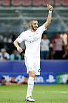 Real Madrid's Karim Benzema during UEFA Champions League 2015/2016 Final match.May 28,2016. (ALTERPHOTOS/Acero)