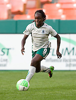 Eniola Aluko. The Washington Freedom defeated the Saint Louis Athletica, 3-1.