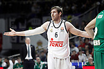Real Madrid's Andres Nocioni during Euroleague match.January 22,2015. (ALTERPHOTOS/Acero)