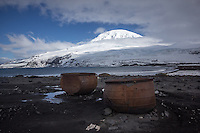 Seal Oil Trypots on Heard Island, Antarctica