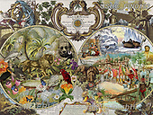 ,LANDSCAPES, LANDSCHAFTEN, PAISAJES, LornaFinchley, paintings+++++,USHCFIN0133,#L#, EVERYDAY ,vintage,stamps,puzzle,puzzles