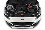 Car stock 2019 Ford Focus-Clipper Active-Business 5 Door Wagon engine high angle detail view