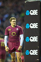 Alex Goode of England looks dejected during the Cook Cup between England and Australia, part of the QBE International series, at Twickenham on Saturday 17th November 2012 (Photo by Rob Munro)