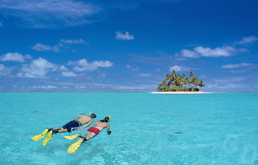 Snorkeling in the Pacific