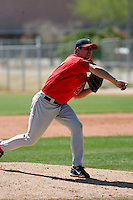 Michael Kohn - Los Angeles Angels - 2009 spring training.Photo by:  Bill Mitchell/Four Seam Images