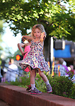 Dayla Kuchnicki, 4, dances to the music the concert at the Carson City Off-Road, Nev., on Saturday, June 16, 2018. <br /> Photo by Cathleen Allison/Nevada Momentum