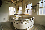 The Hubbard Tub at the Fordyce Bathhouse Visitor Center at Hot Springs National Park, Arkansas, USA