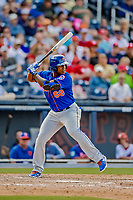 7 March 2019: New York Mets outfielder Rymer Liriano in action during a Spring Training Game against the Washington Nationals at the Ballpark of the Palm Beaches in West Palm Beach, Florida. The Nationals defeated the visiting Mets 6-4 in Grapefruit League, pre-season play. Mandatory Credit: Ed Wolfstein Photo *** RAW (NEF) Image File Available ***