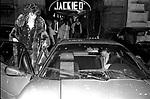 CARMEN RUSSO ALL'USCITA DAL JACKIE O' ROMA 1973