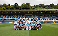 The Wycombe Wanderers Team Photo 2015/16 during Wycombe Wanderers Team Photoshoot 2015  at Adams Park, High Wycombe, England on 3 August 2015. Photo by PRiME Media Images.