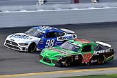 #19: Brandon Jones, Joe Gibbs Racing, Toyota Supra Interstate Batteries and #98: Chase Briscoe, Stewart-Haas Racing, Ford Mustang HighPoint.com