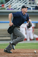2007 MiLB Umpire Greg Brown during the New York-Penn League League season.  Photo By  Mike Janes/Four Seam Images